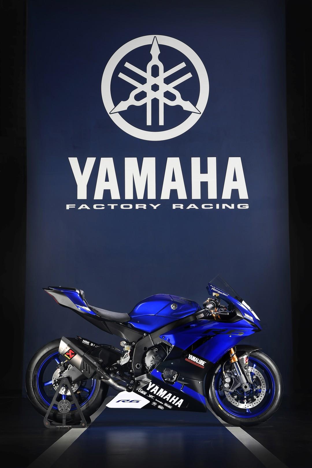 Yamaha YZF-R6 2017 Racing-fotos