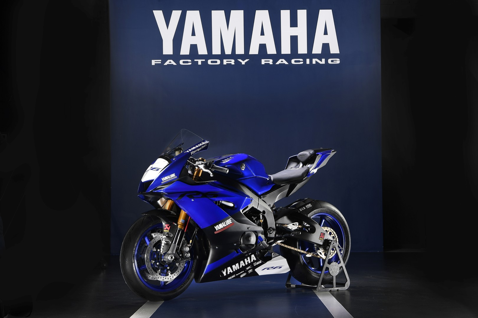 Yamaha YZF-R6 2017 Racing-fotos