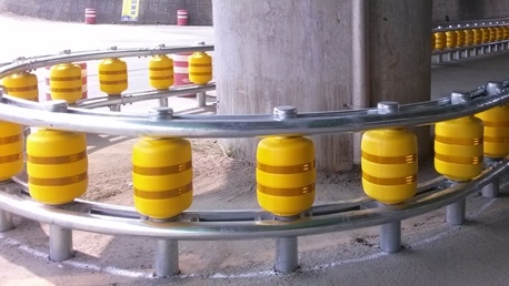 'Roller System', los guardarraíles salvavidas