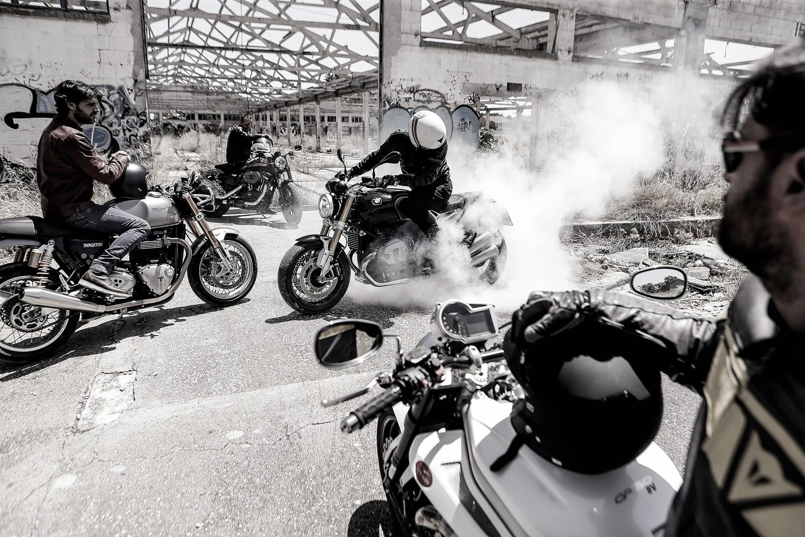 Comparativa motos Retro
