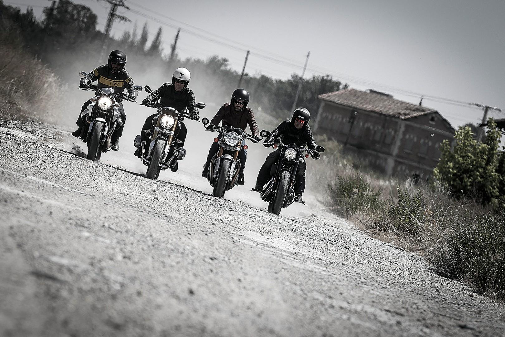 Comparativa motos Retro. Fotos