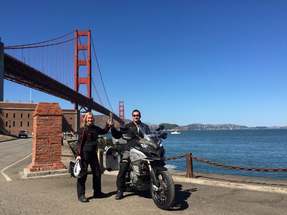 Vuelta al mundo de Ducati