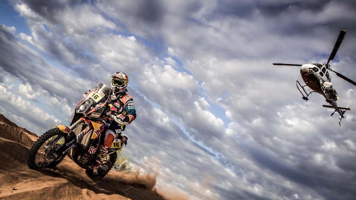 Las imágenes más espectaculares del Dakar 2017