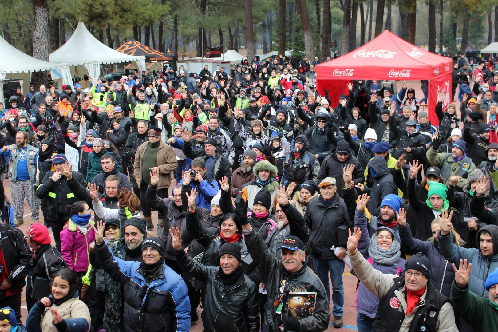 Concentración La Leyenda Continúa 2017, fotos