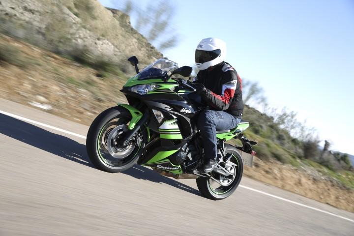Kawasaki Ninja 650, fotos