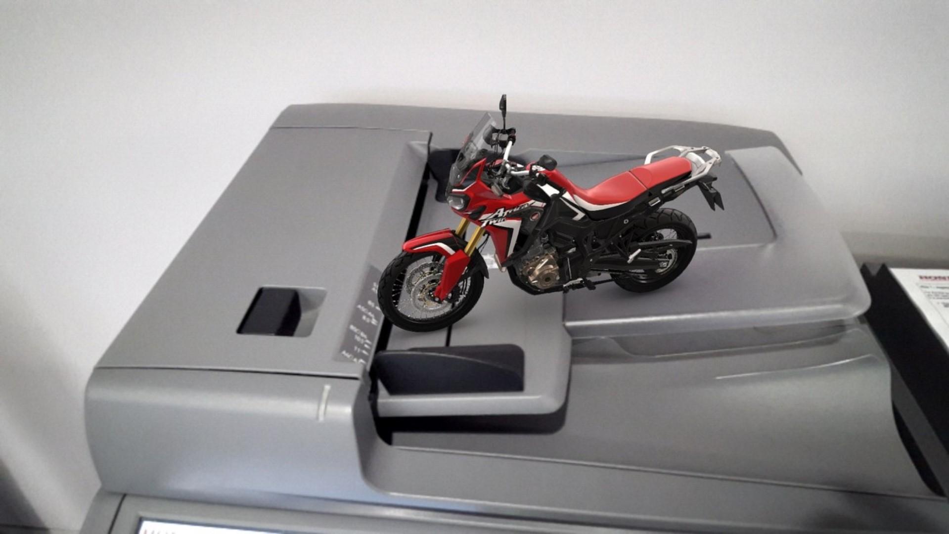 Aplicación Honda Africa Twin, fotos