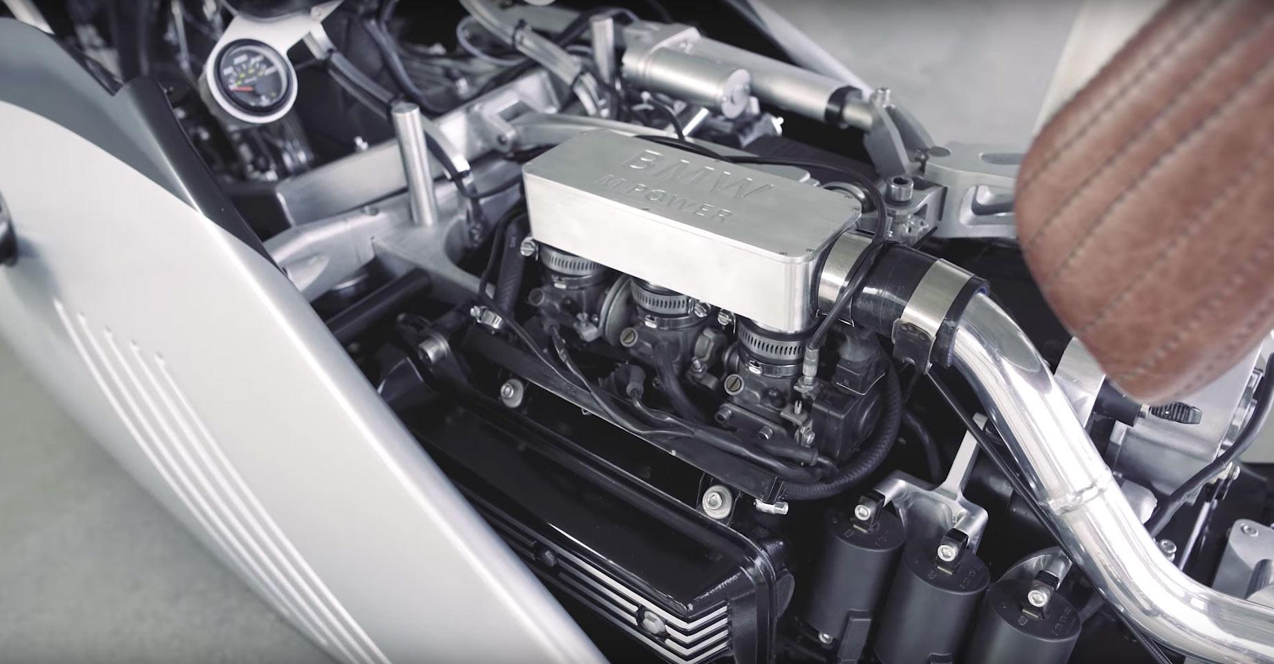 BMW K75 Alpha por Mark Atkinson y Doruk Erdem