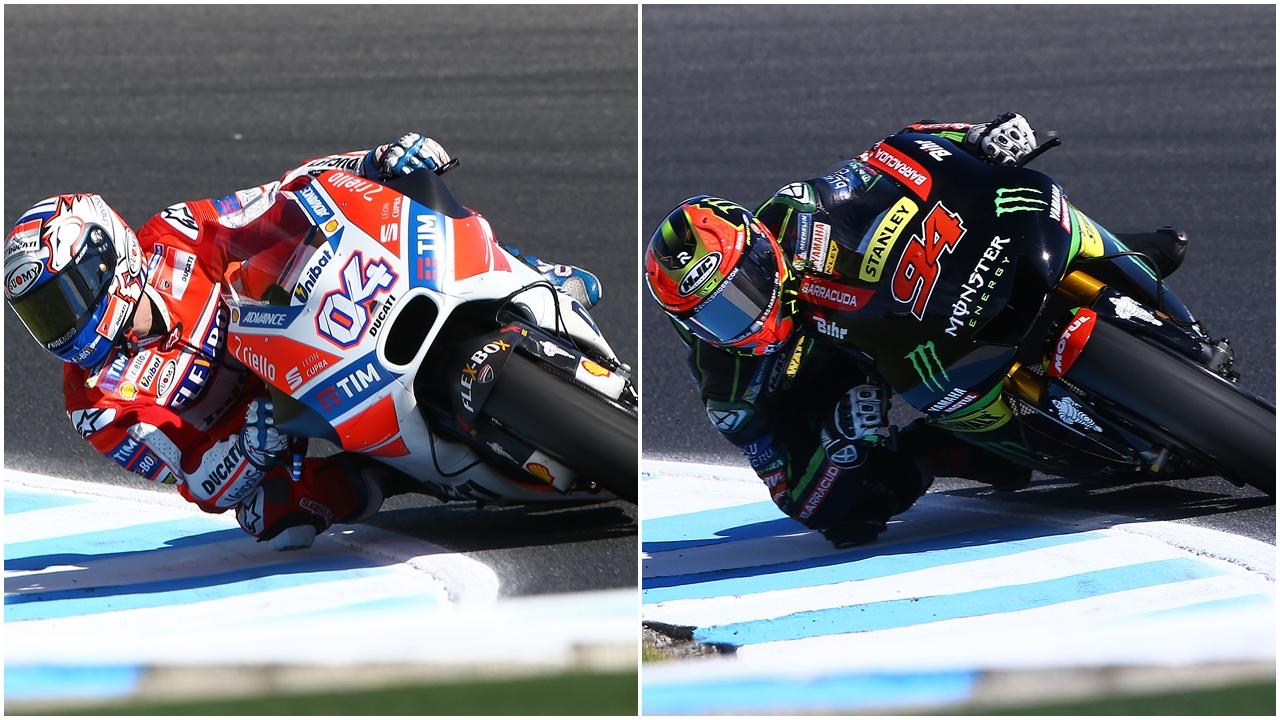 Comparativa estilos de pilotaje MotoGP 2017