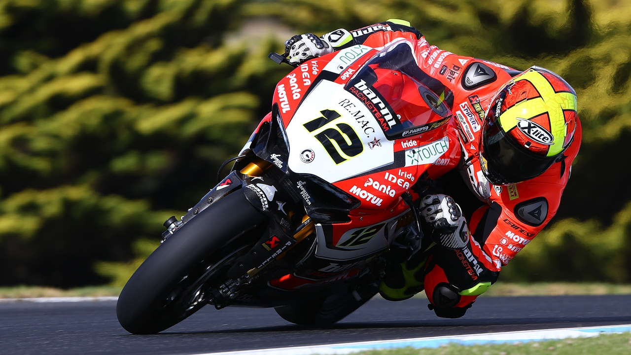 Test Australia WorldSBK 2017