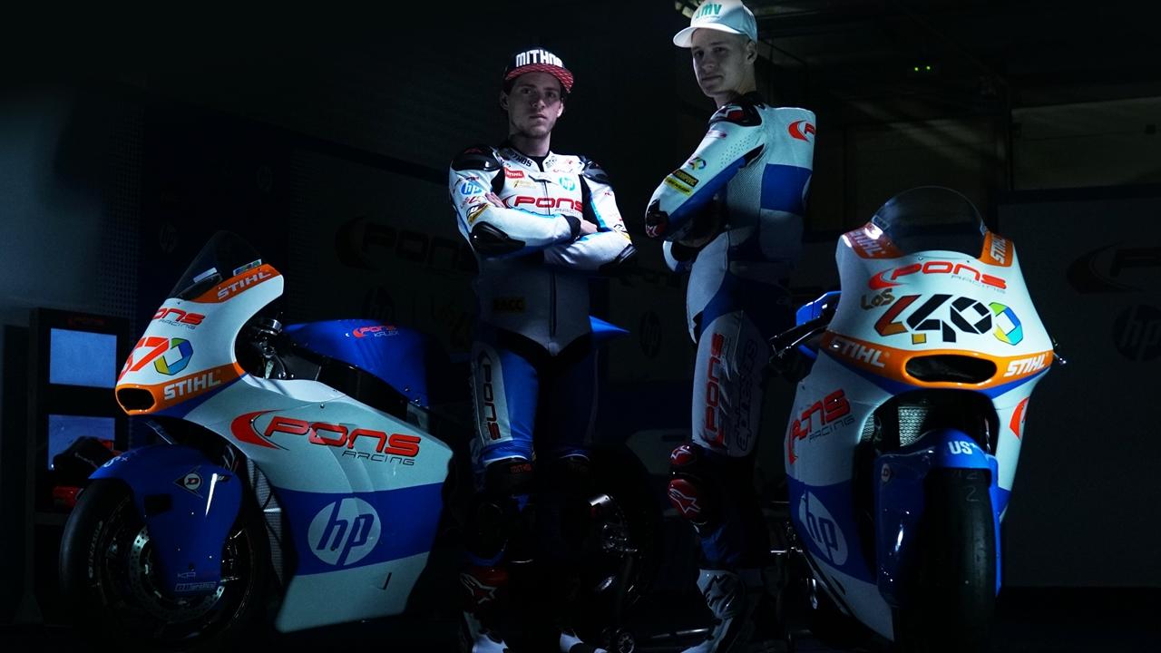 Pons HP 40 Moto2 2017