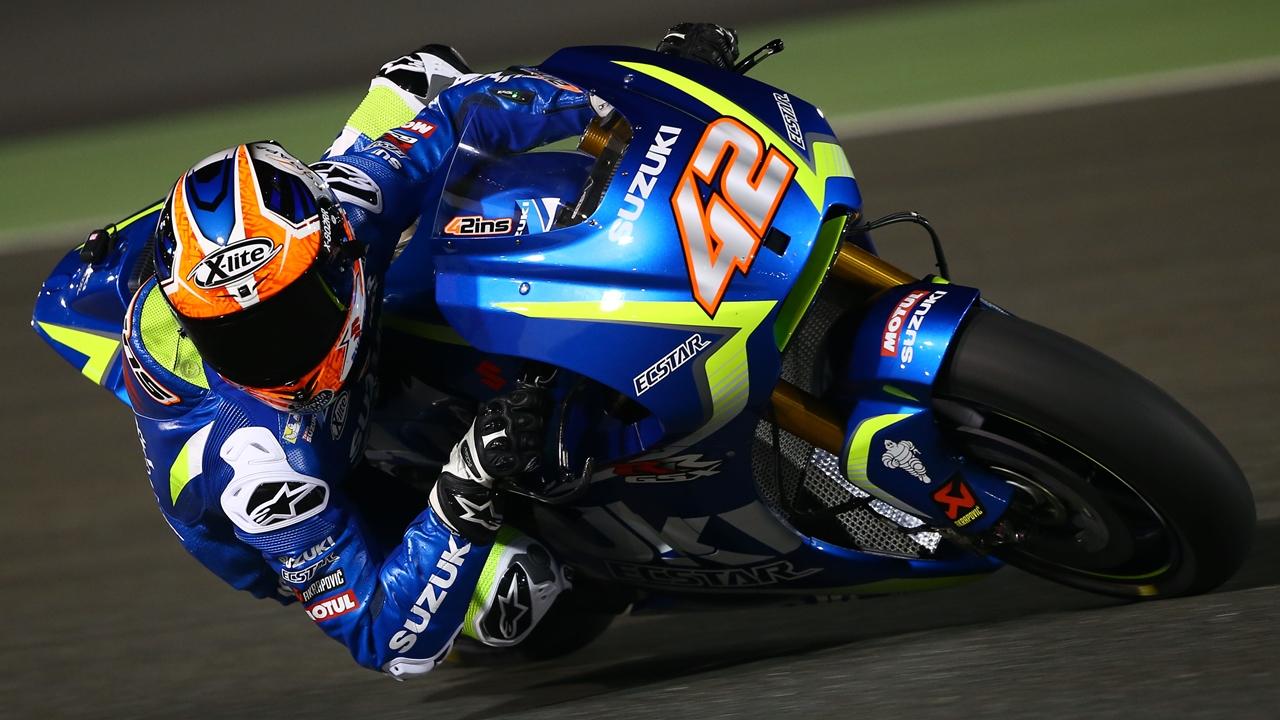 Los pilotos de MotoGP 2017