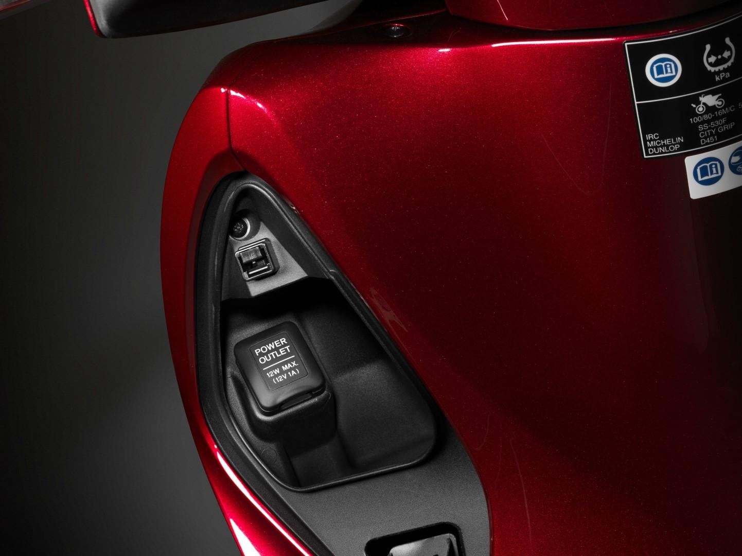 Honda SH125i 2017 versiones y colores, fotos