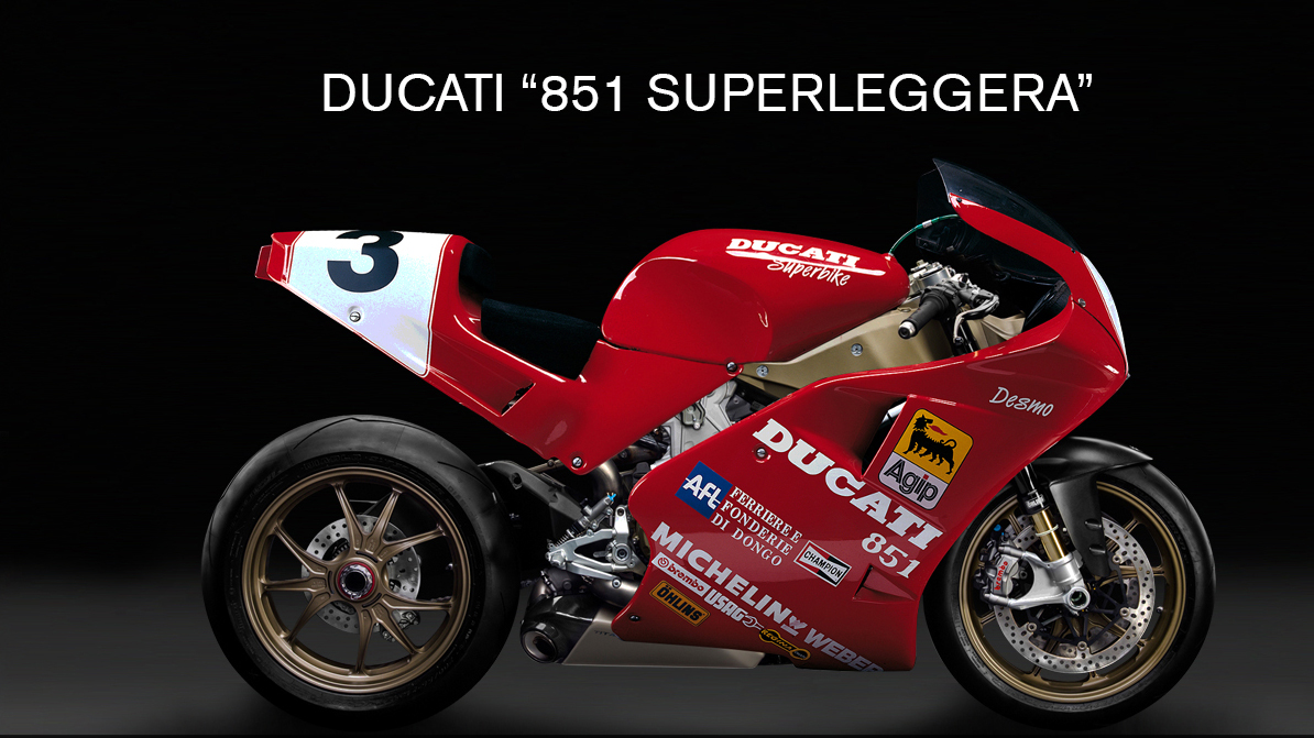 Ducati 851 Superleggera