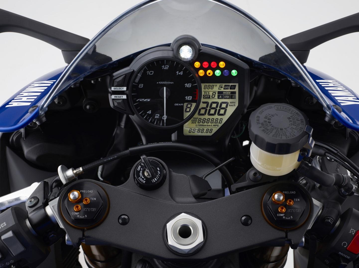 Yamaha YZF-R6 2017, la supersport japonesa Euro4