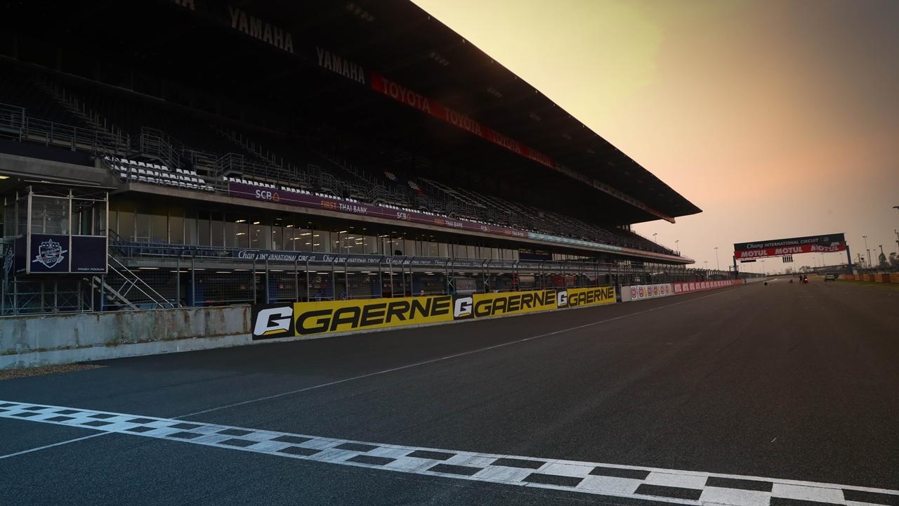 Chang International Circuit, en Buriram (Tailandia)
