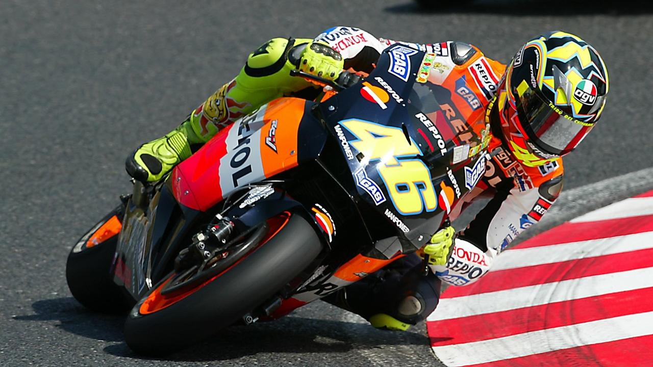 Valentino Rossi cumple 350 Grandes Premios