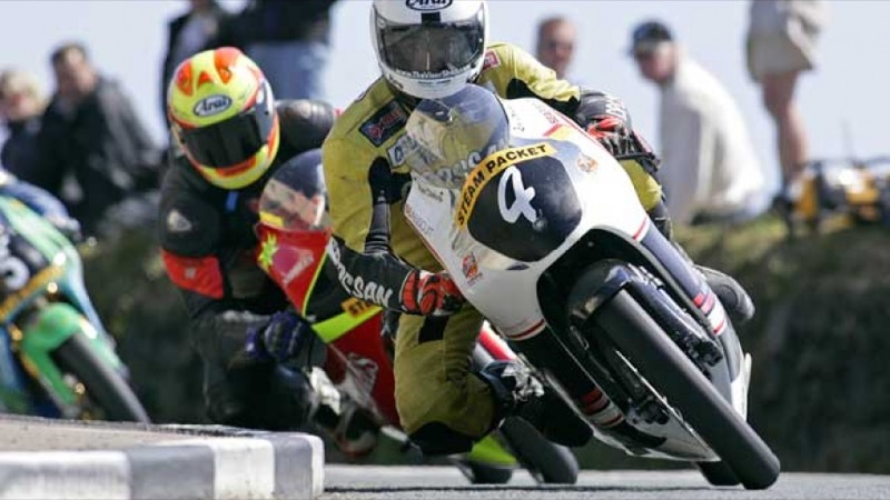 Joey y Robert Dunlop