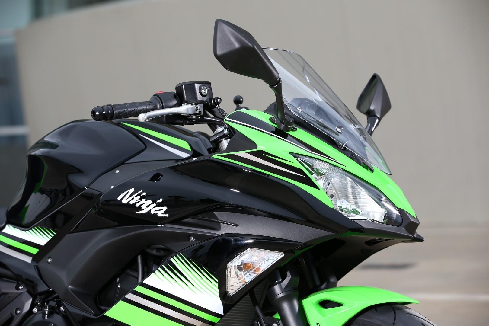 Kawasaki Ninja 650 2017, fotos