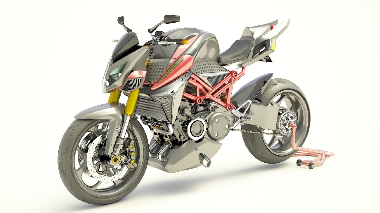 Fusion M1, moto híbrida con motor rotativo