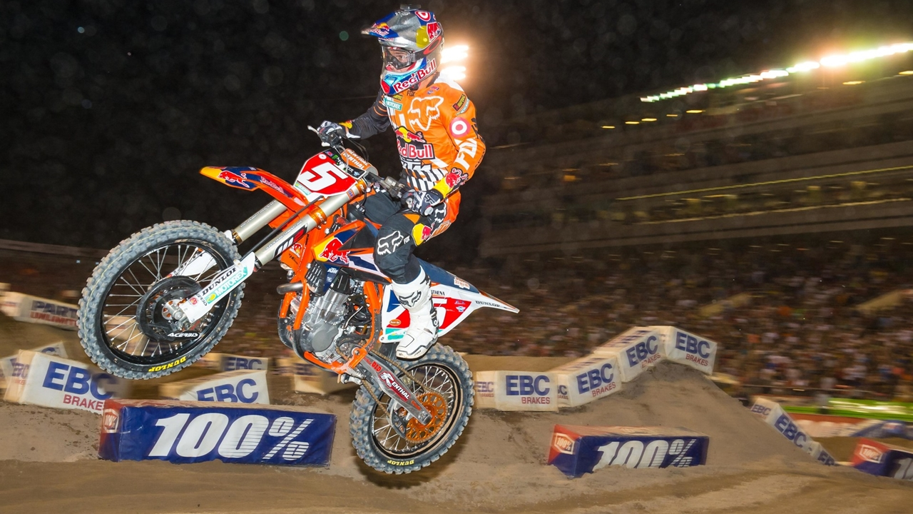 Ryan Dungey, su carrera en fotos