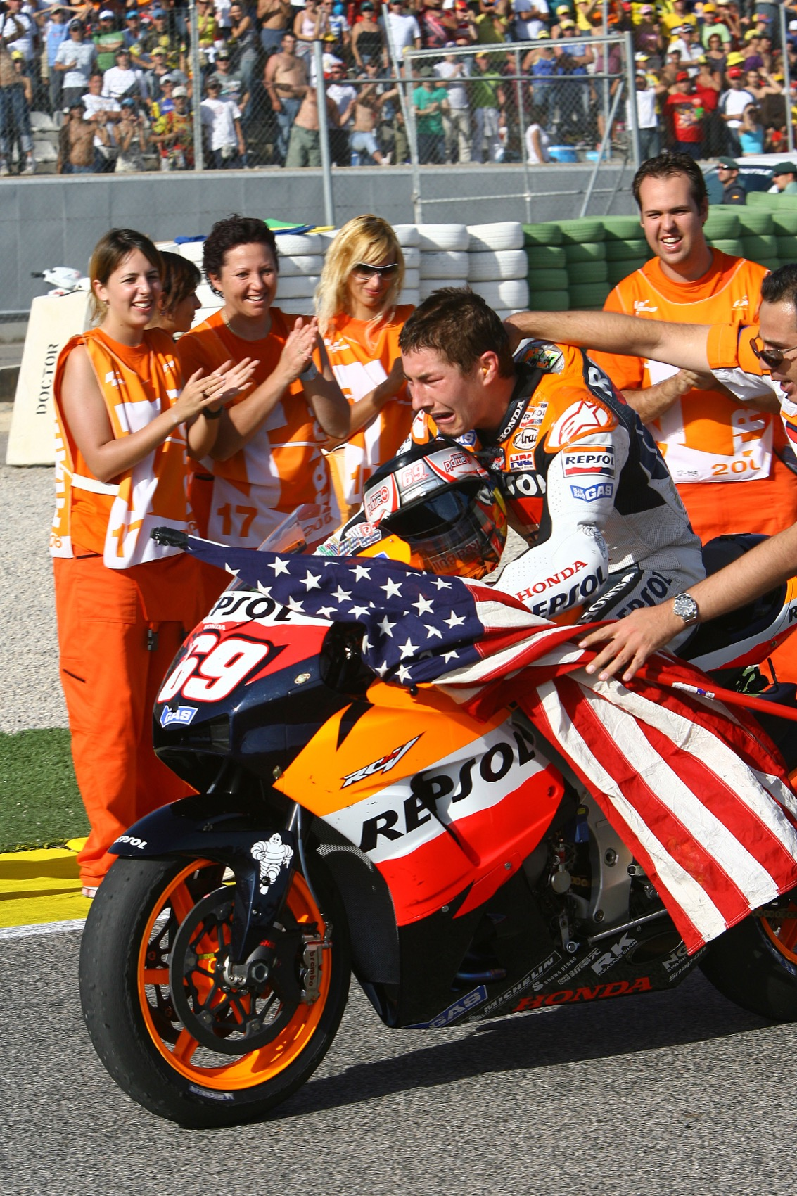 Nicky Hayden en fotos