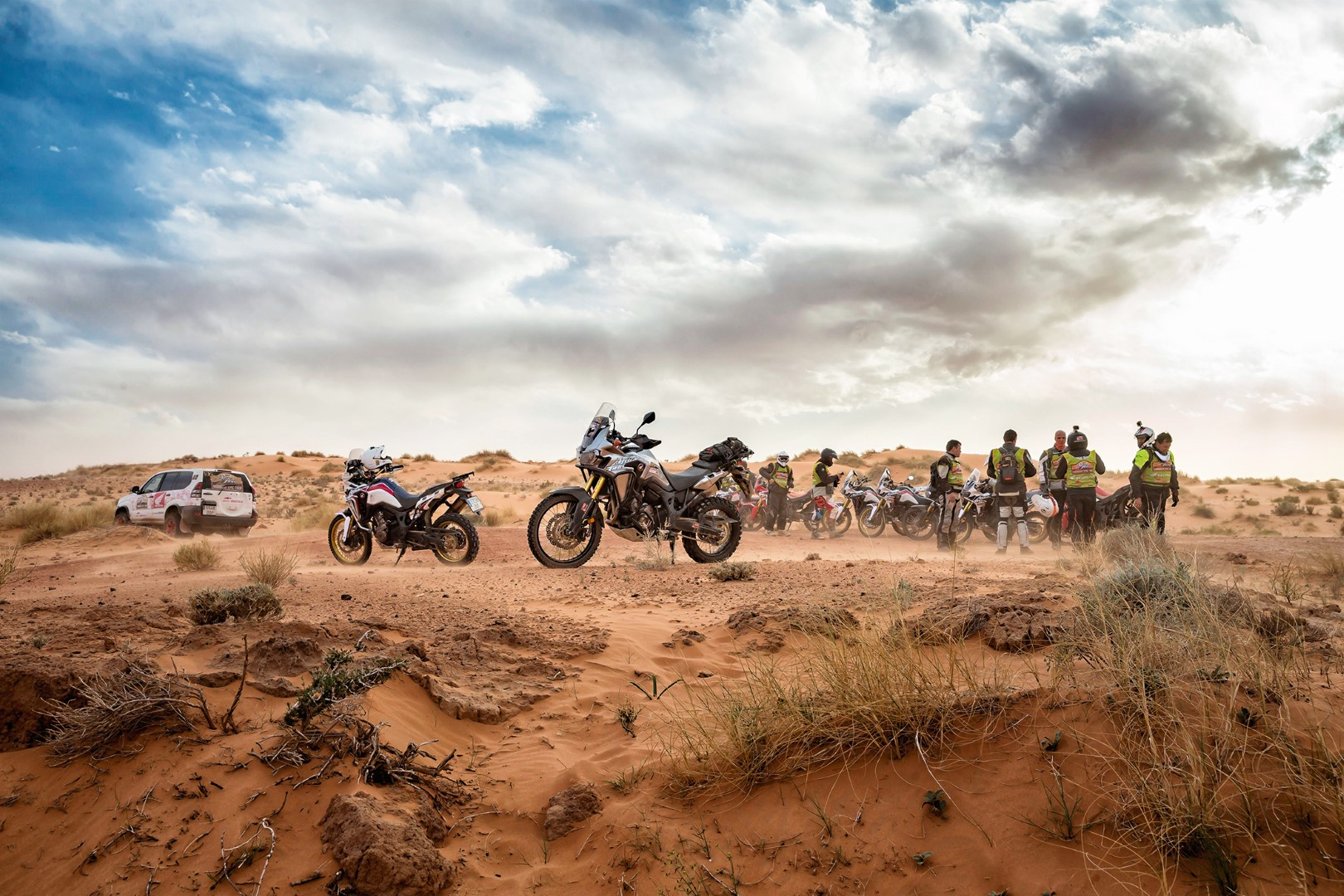 Honda Africa Twin Morocco Epic Tour, fotos