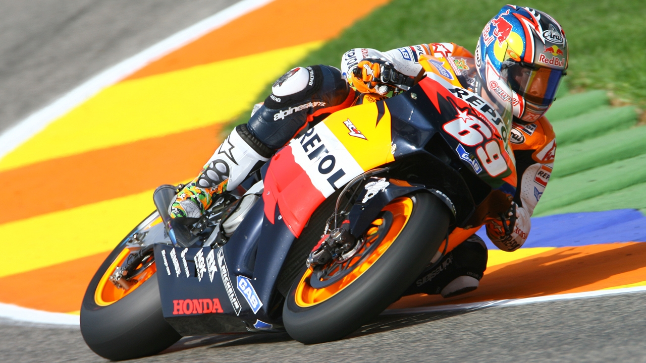 Las cuatro motos de Nicky Hayden