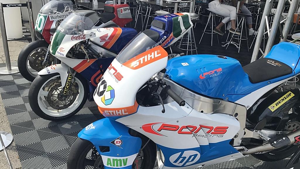 Las motos de Sito Pons