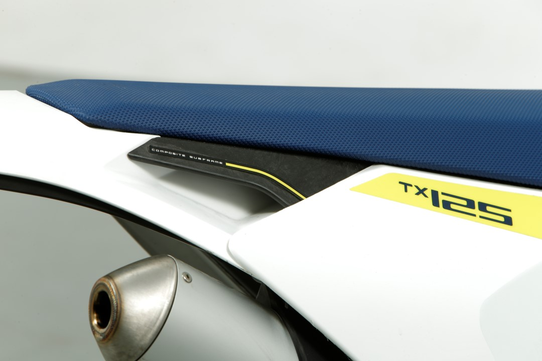 Husqvarna TX 125, prueba