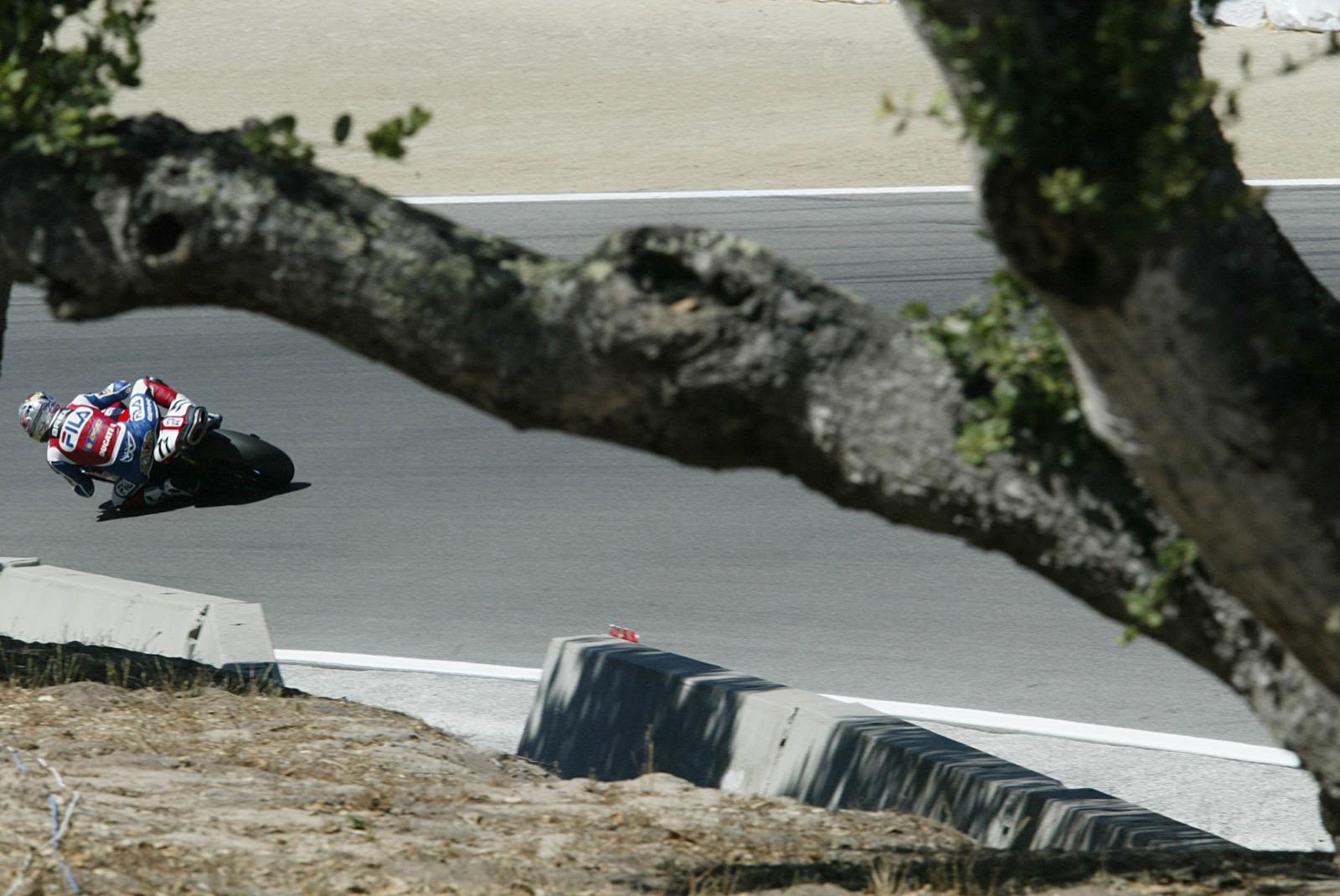 Rubén Xaus en Laguna Seca 2003