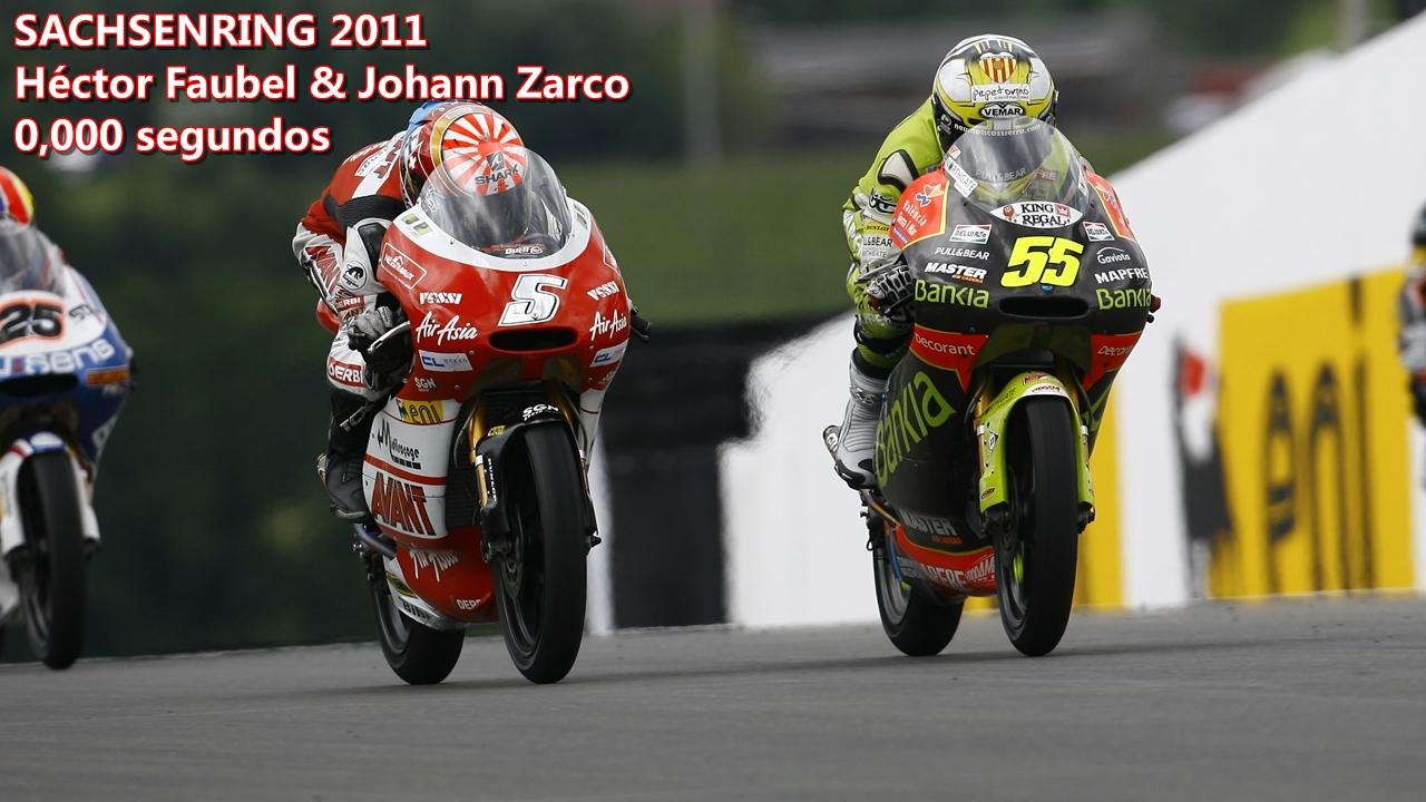 Finales milimétricos en MotoGP