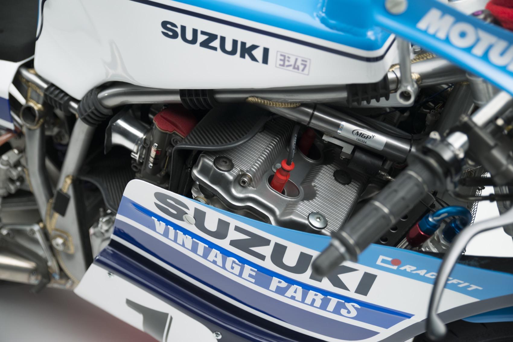 Suzuki XR69 de Michael Dunlop