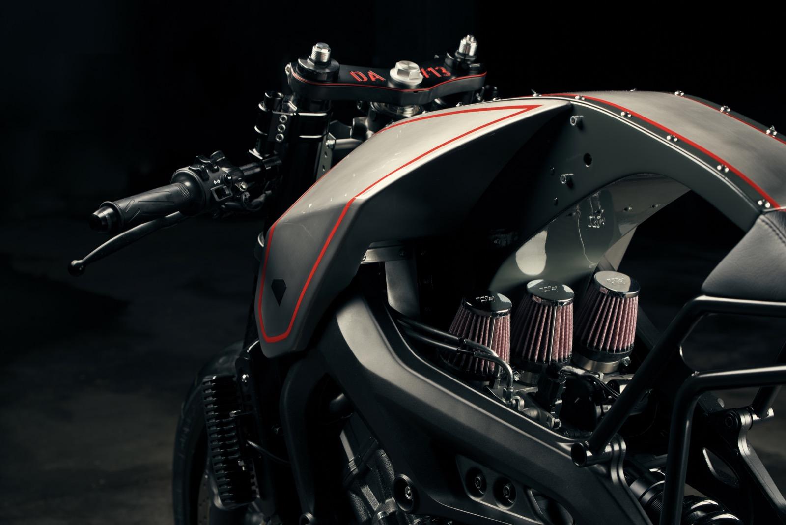 Yamaha XSR900 by Diamond Atelier