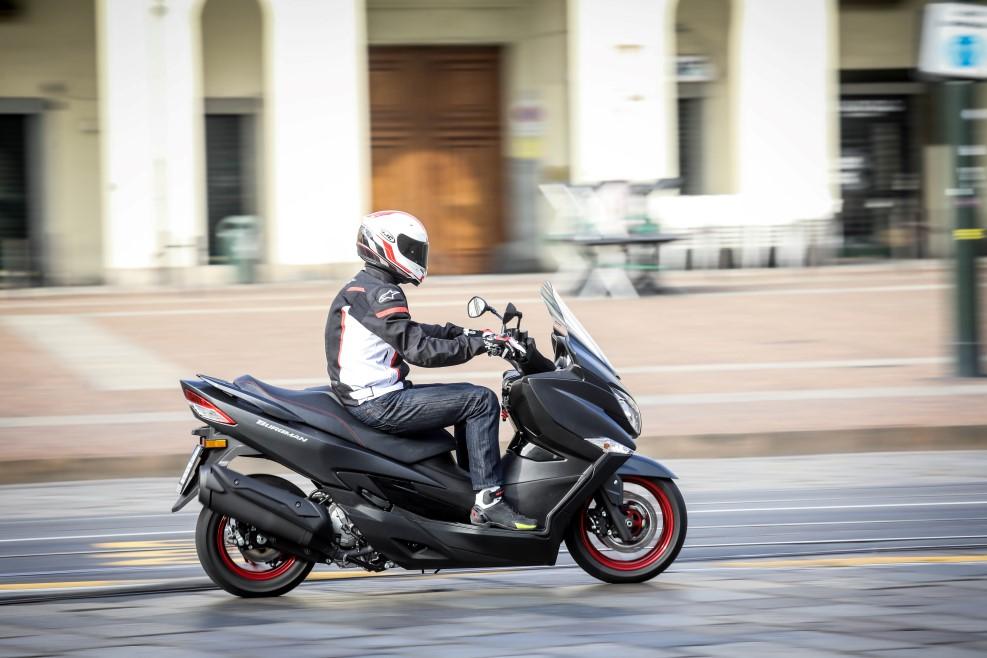 Suzuki Burgman 400, fotos