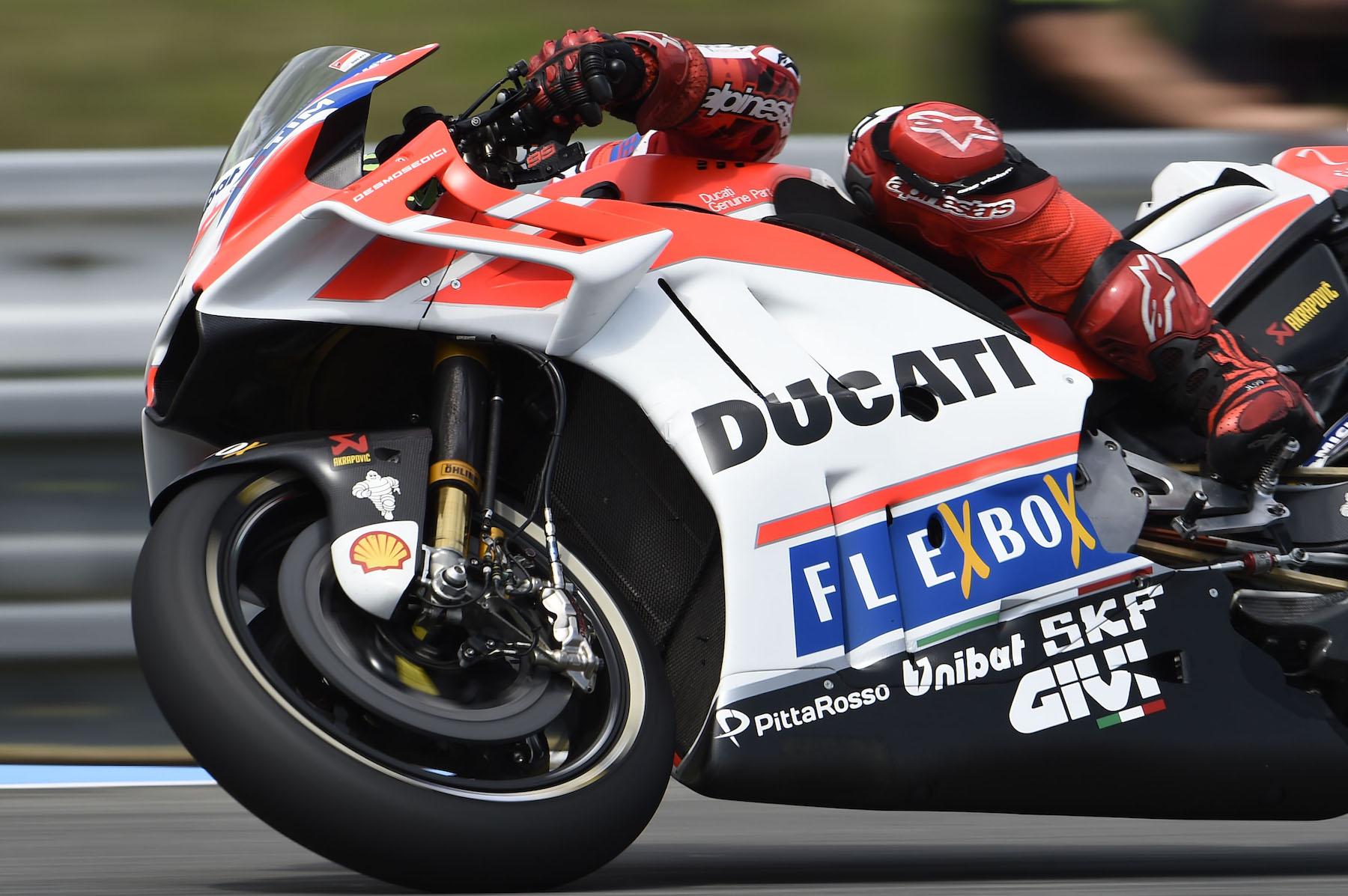 Nuevo carenado Ducati GP17
