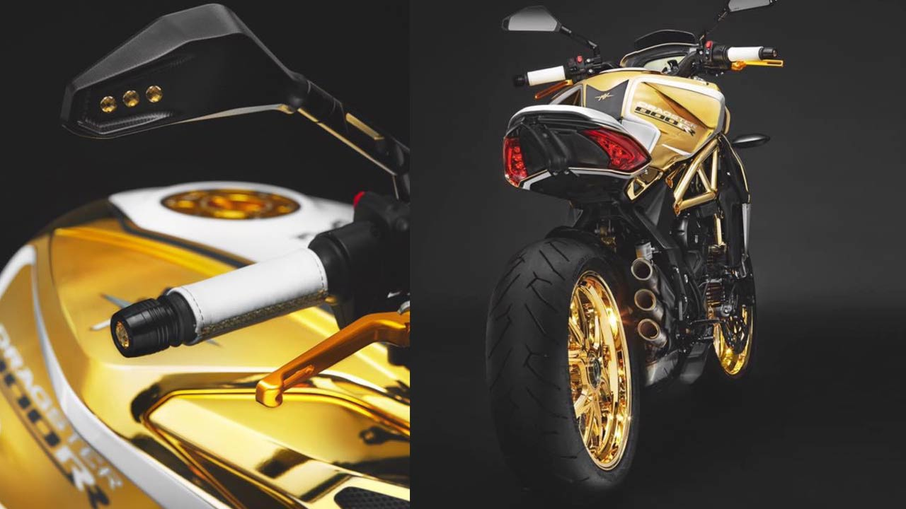 MV Agusta Dragster RR Gold Edition