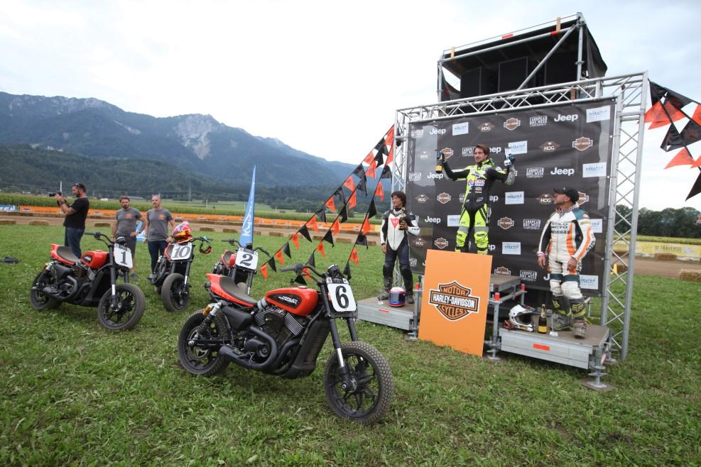 flat track Harley-Davidson Hooligan STT International Invitational