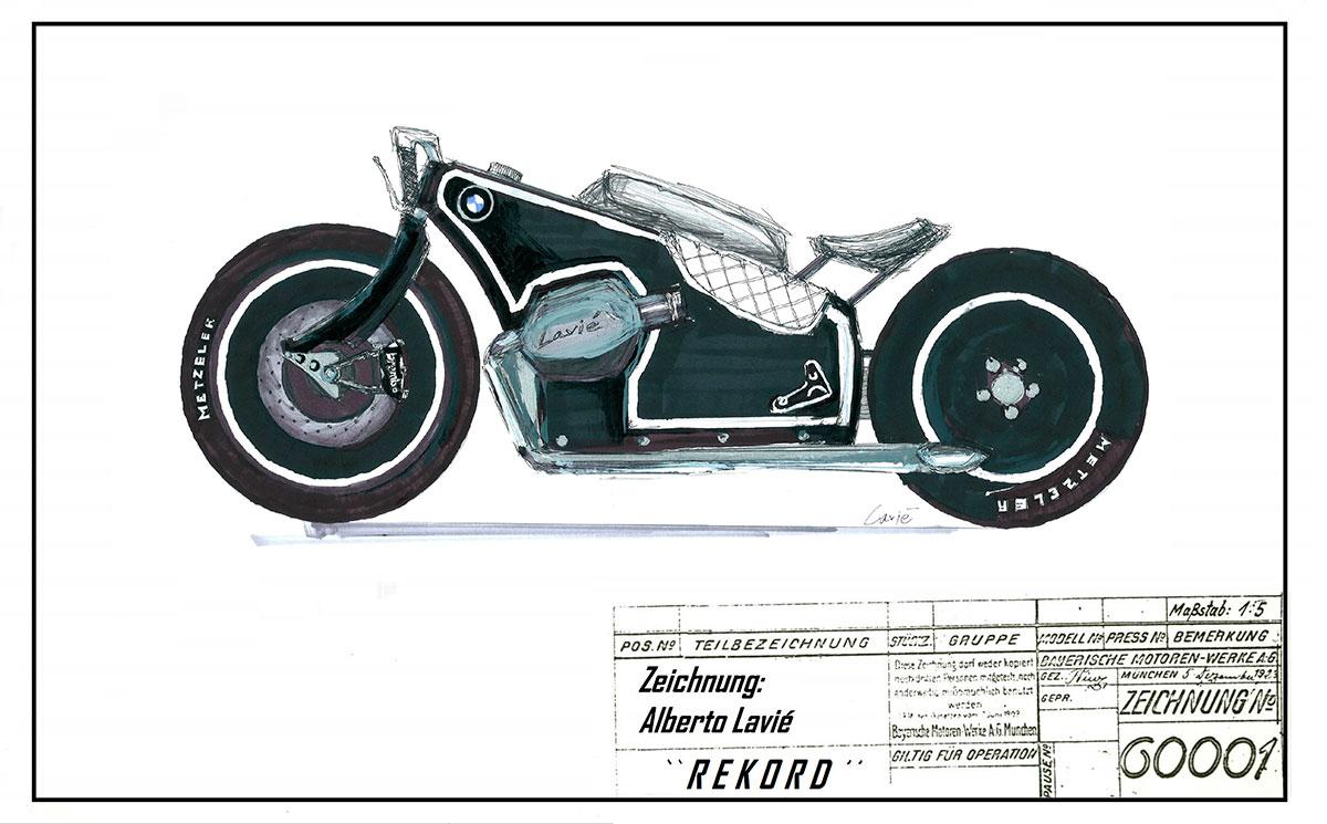 BMW Heritage Custom Project: Los bocetos presentados