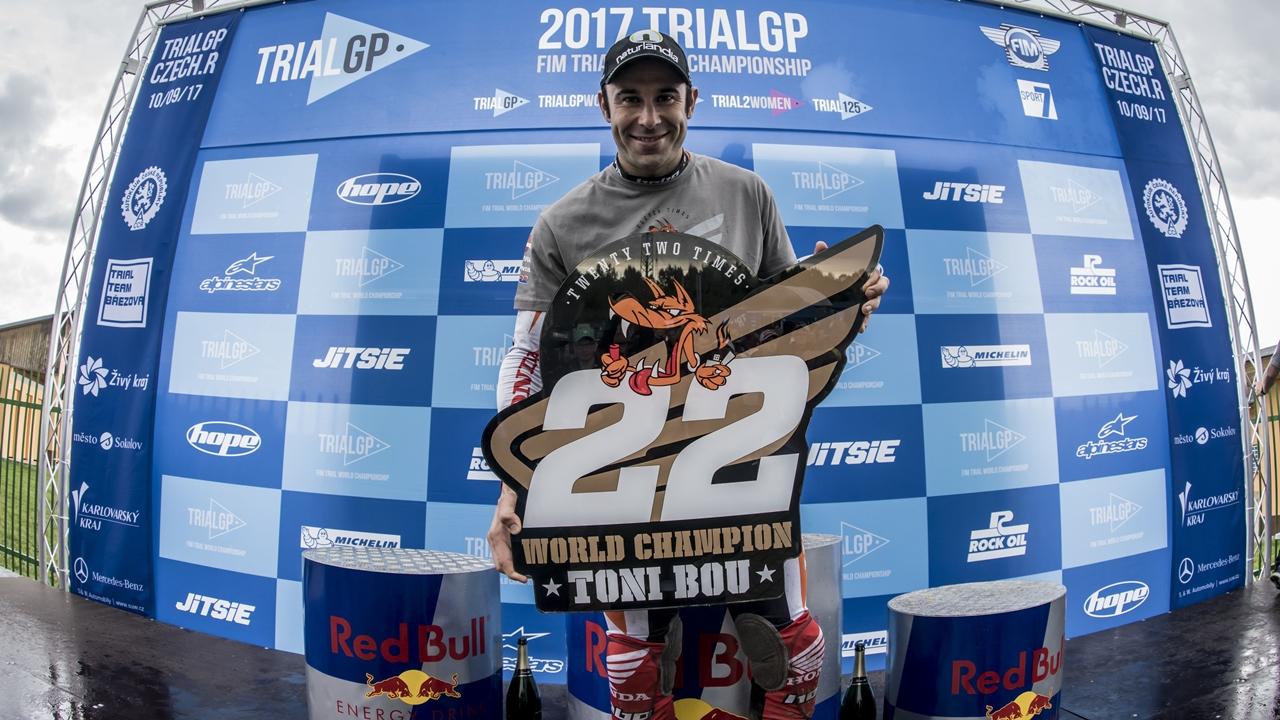 Toni Bou, campeón TrialGP 2017