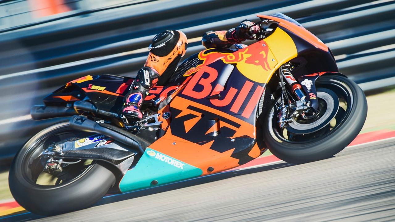 Markus Reiterberger con la KTM de MotoGP