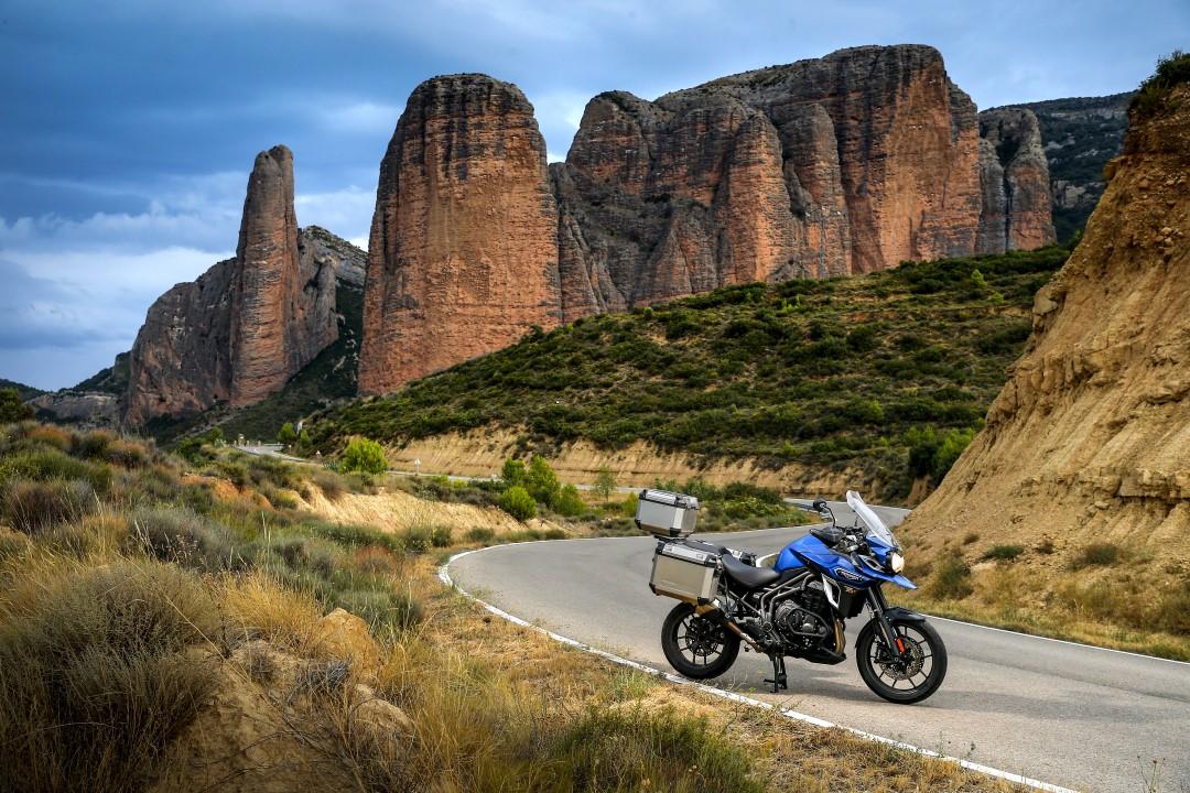 Ruta en moto por el pirineo oscense con Ruralka