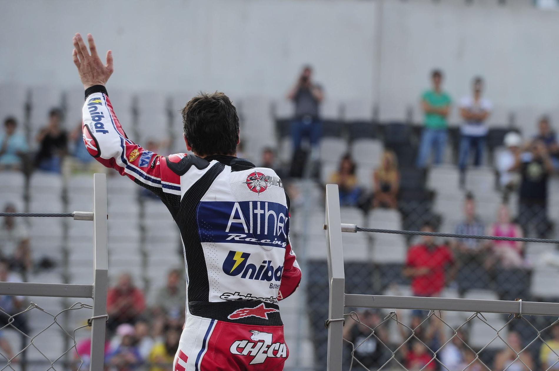 Carlos Checa y su mejor carrera