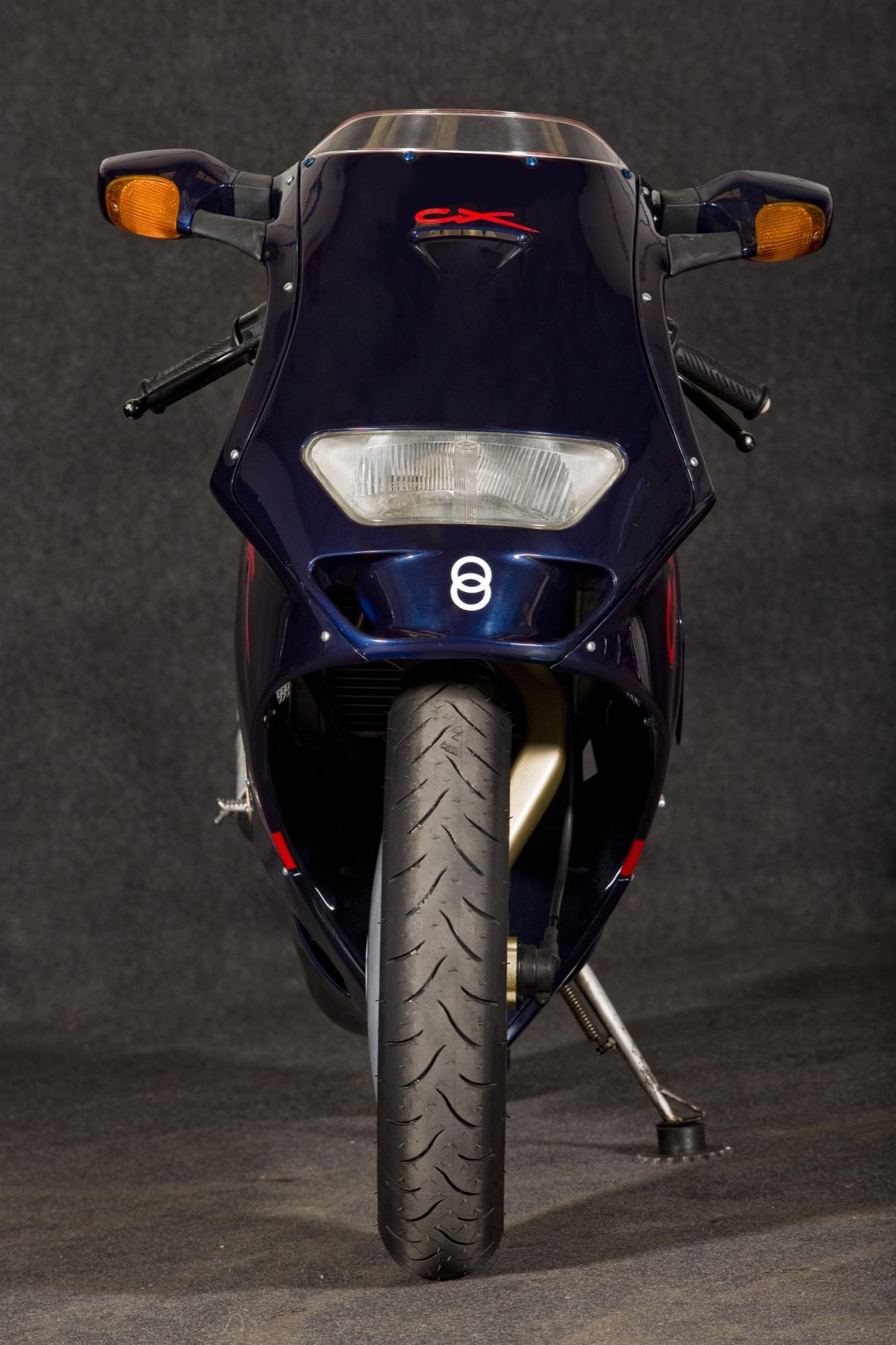 Gilera CX 1991, una show bike muy real