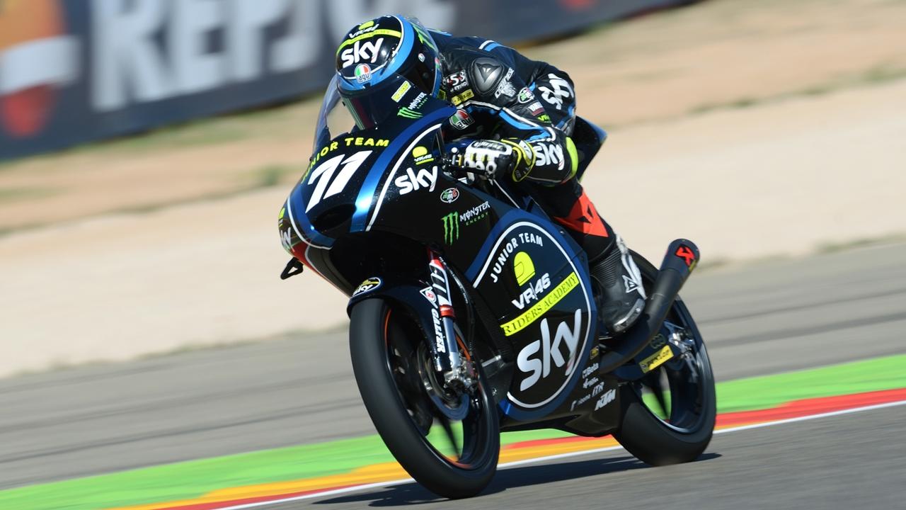 Dennis Foggia, campeón mundial junior Moto3 2017