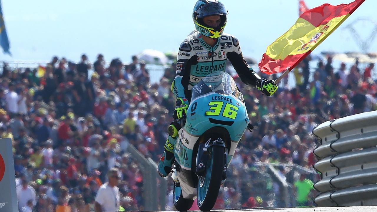 Joan Mir, campeón del mundo Moto3 2017
