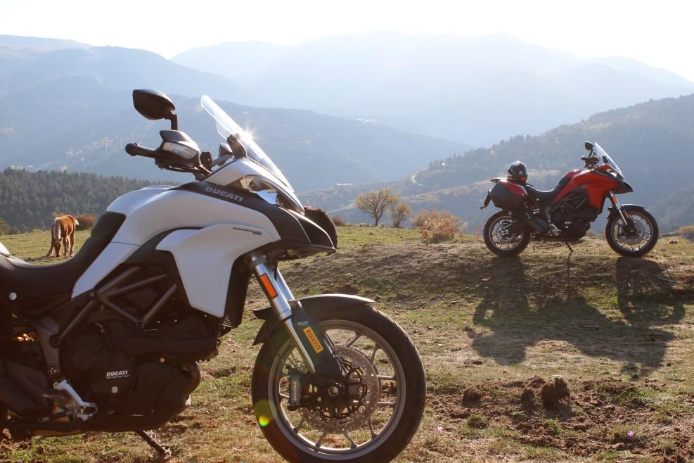 Travesía DosMares Ducati: Pirineos en moto