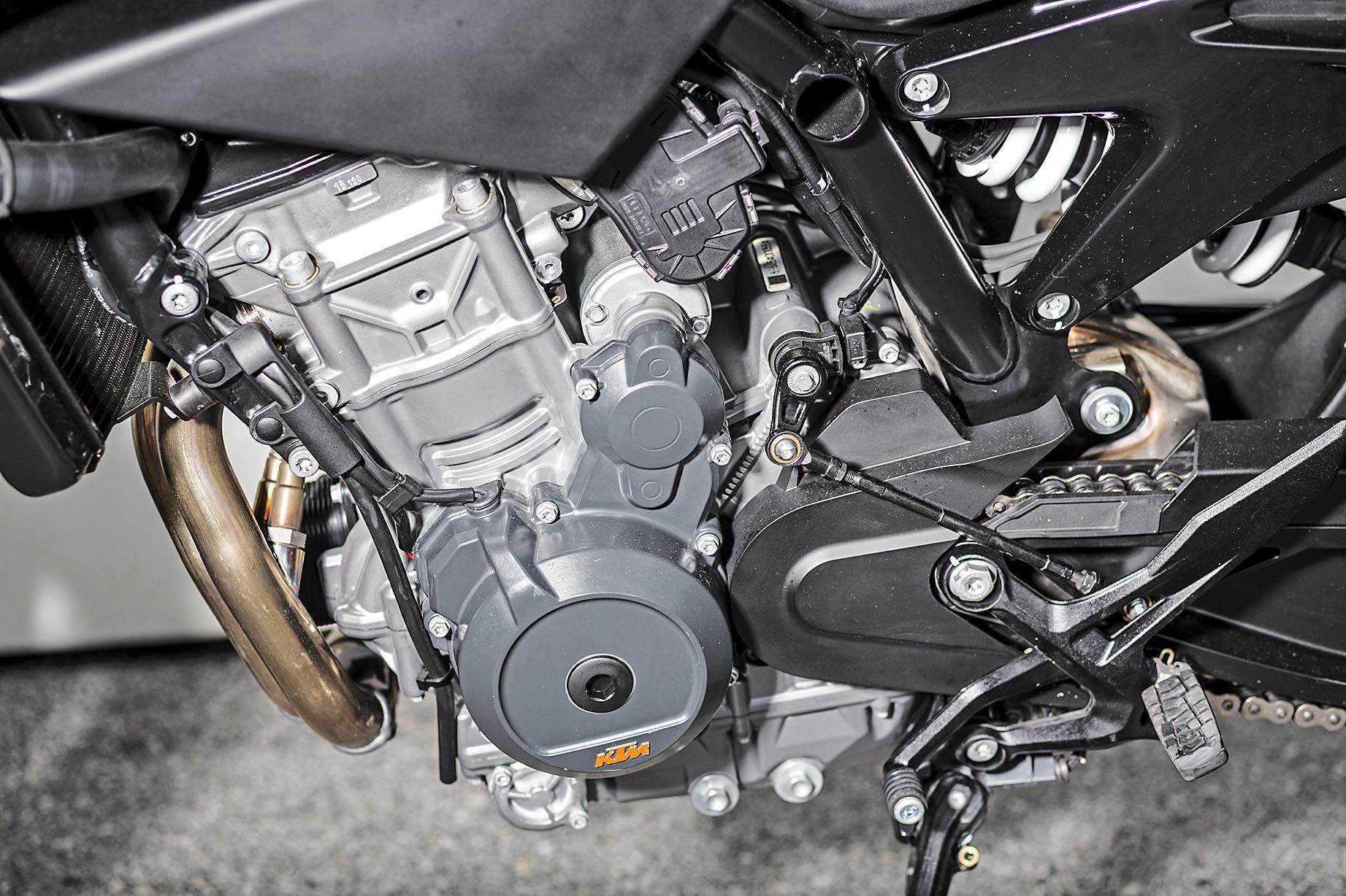 KTM 790 Duke 2018, prueba