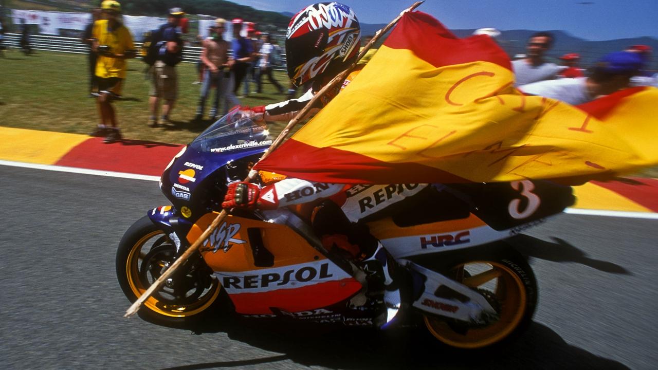 Álex Crivillé, campeón del mundo de 500cc