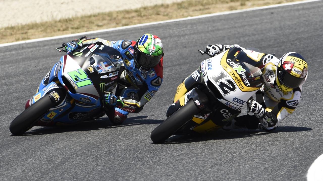 Franco Morbidelli, campeón de Moto2 2017