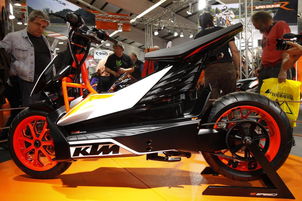 KTM E-SPEED, scooter eléctrico